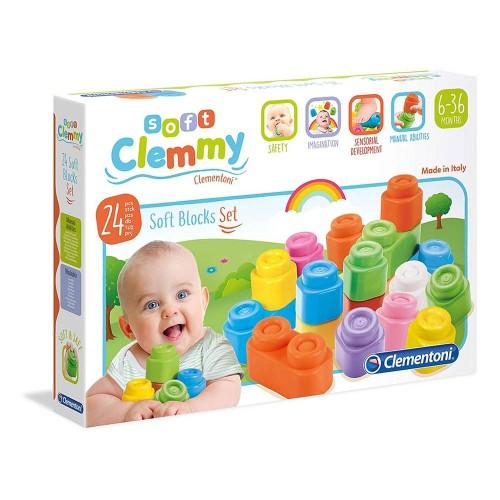 clemmy baby 24 blocchi soft
