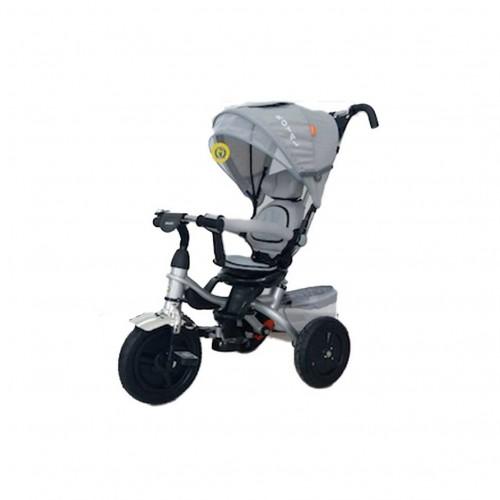triciclo royal grigio - mazzeo giocattoli