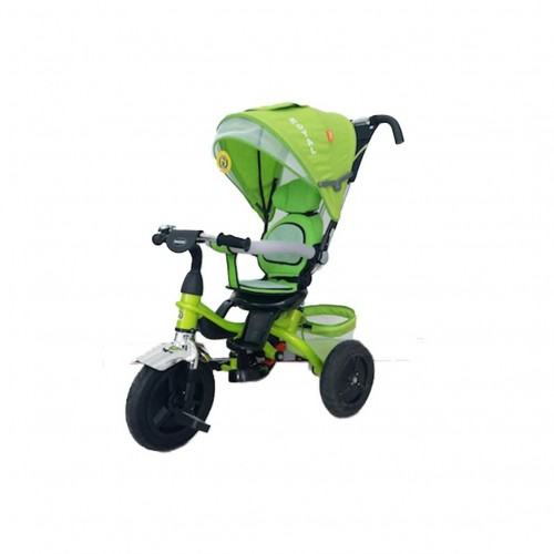 triciclo royal verde - mazzeo giocattoli