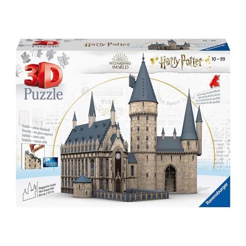 Puzzle 3d Harry Potter castello di Hogwarts - Ravensburger