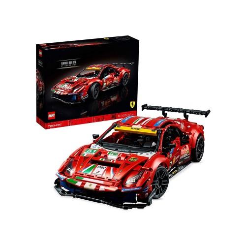 """Set costruzioni Ferrari 488 GTE """"AF Corse #51"""" - lego technic"""