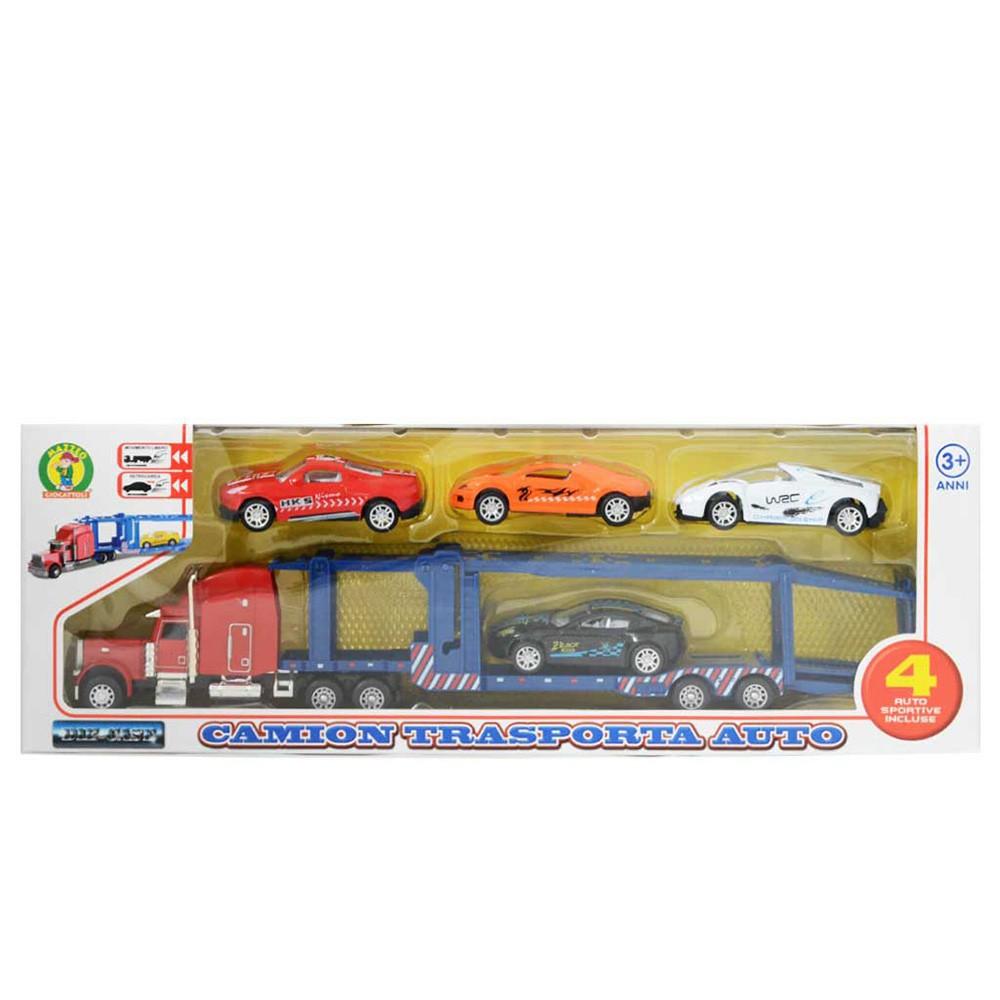 Camion da lavoro giocattolo modellino con movimento a frizione Mazzeo Giocattoli