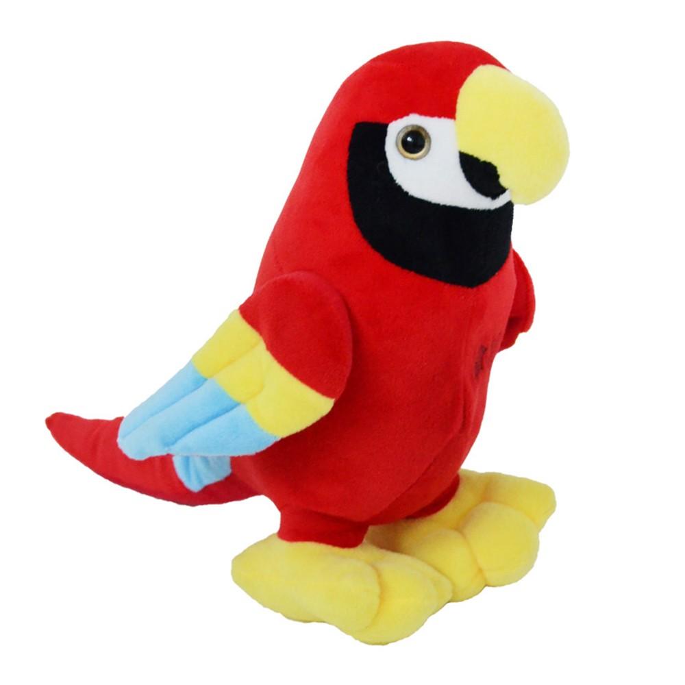 Peluche pappagallo parlante giocattolo - Mazzeo giocattoli