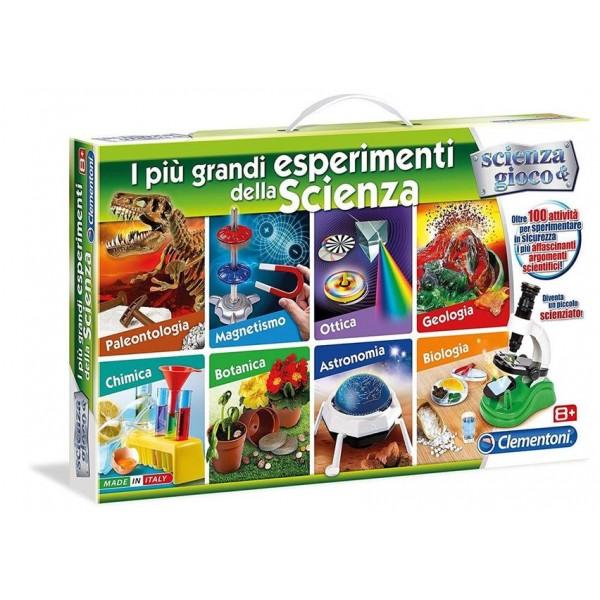 I più grandi esperimenti della scienza - Clementoni