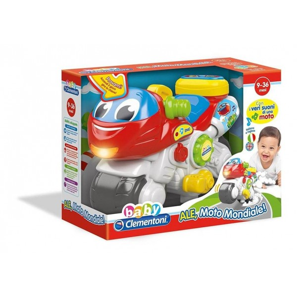 Baby Ale Moto Mondiale - Clementoni