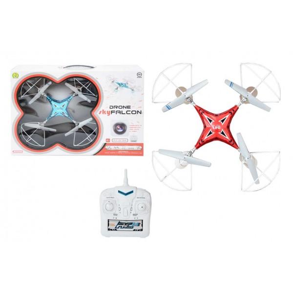 drone quadricottero skyfalcon con videocamera - mazzeo giocattoli