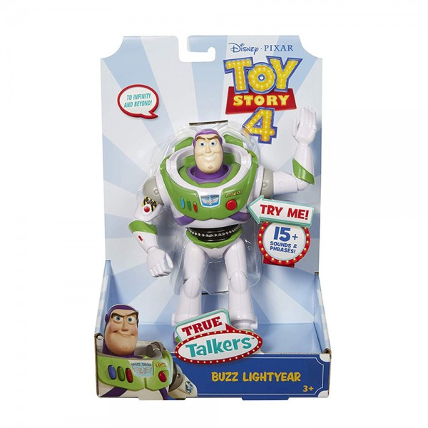 Buzz Lightyear ToyStory 4 Personaggio Parlante - Mattel