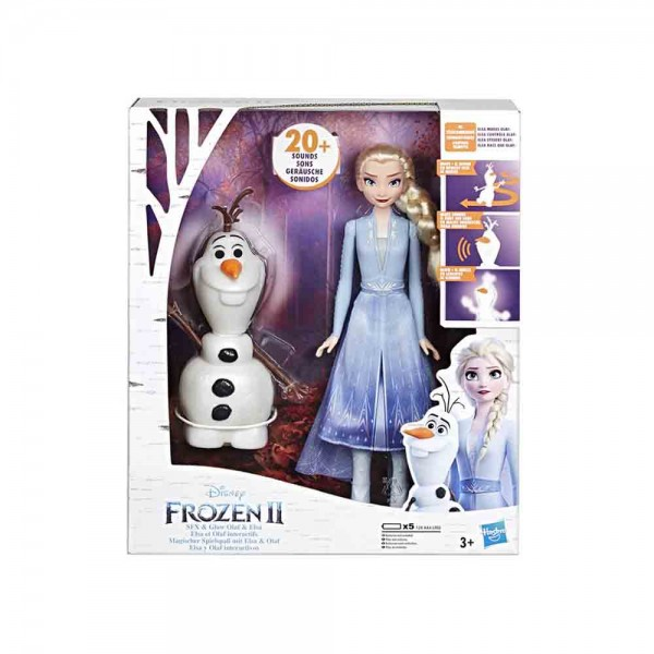 frozen 2 olaf e elsa - hasbro