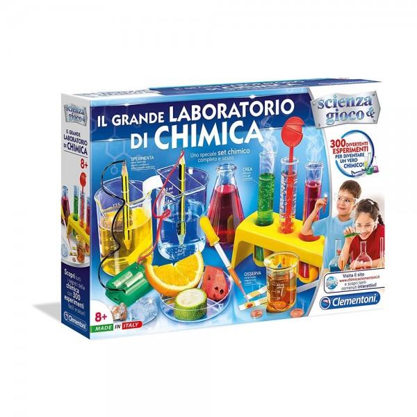 Giochi Educativi e Scientifici Il Grande Laboratorio di Chimica - Clementoni