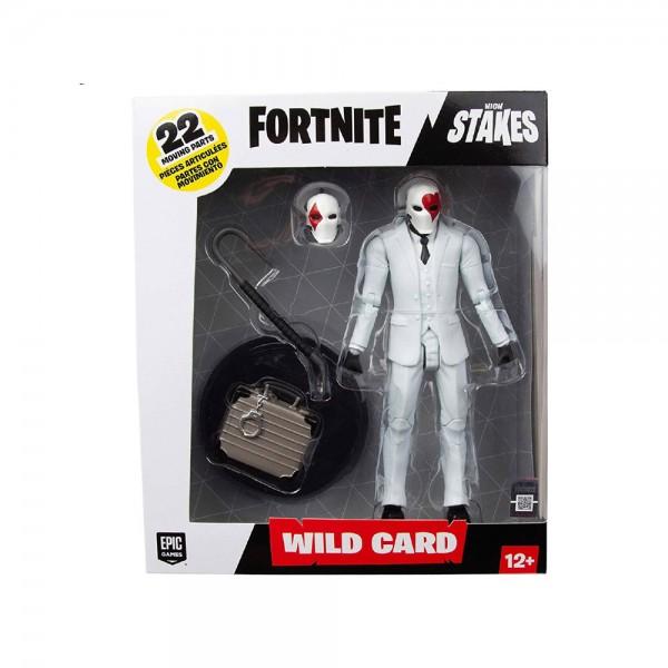 Statuetta Action Figure Wild Card Red - Fortnite