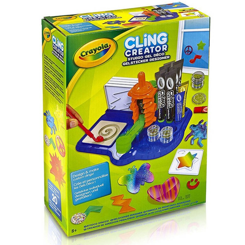 Sticco Stacco Crayola Laboratorio Sticker  - MazzeoGiocattoli.it