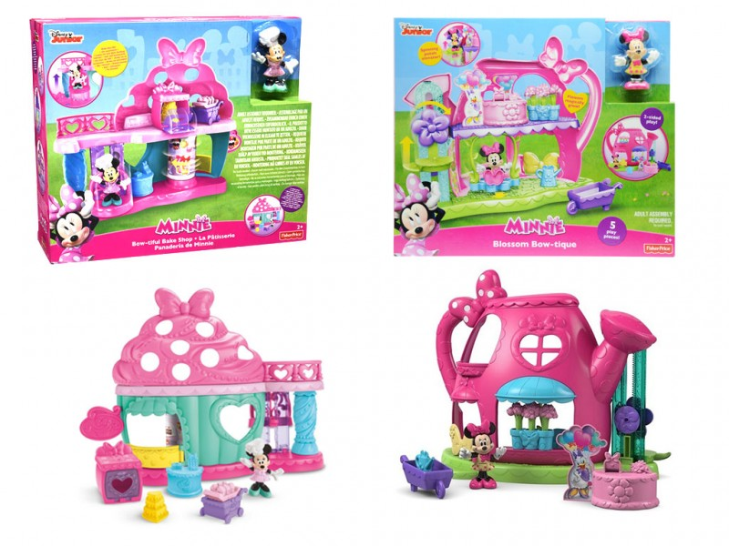 Minnie Shopping - Fisher Price - MazzeoGiocattoli.it