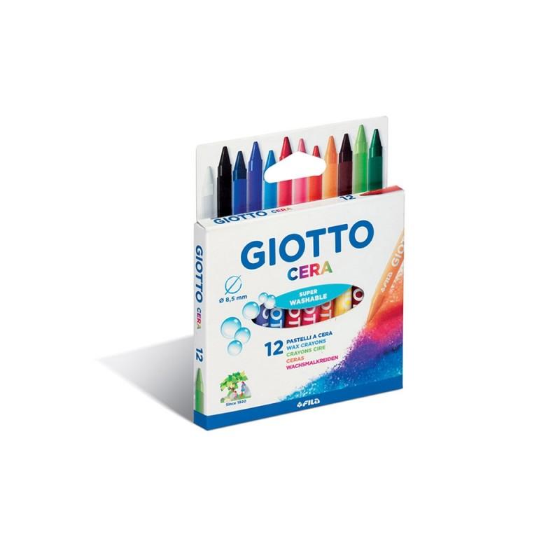 12 Pastelli A Cera - Giotto - MazzeoGiocattoli.it