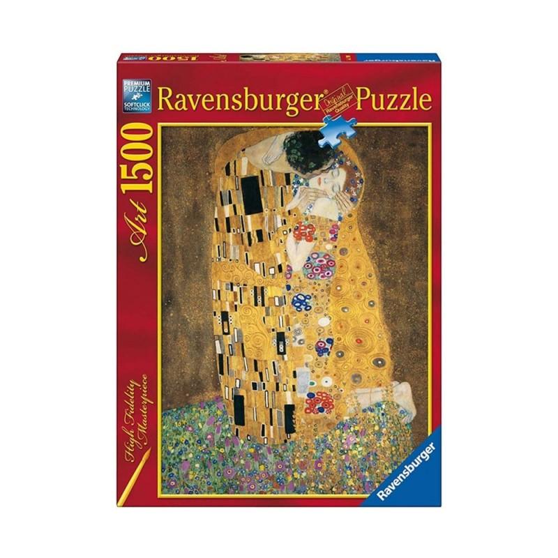 Puzzle Art Klimt: Il Bacio 1500pz - Ravensburger  - MazzeoGiocattoli.it