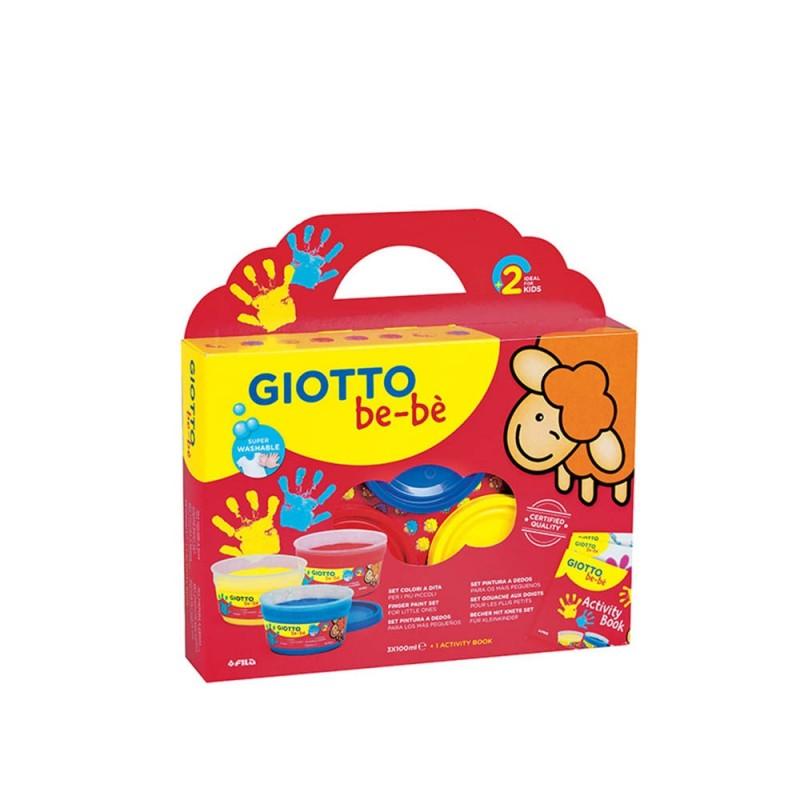 Set Supercolori A Dita Giotto Be-bè - Giotto  - MazzeoGiocattoli.it