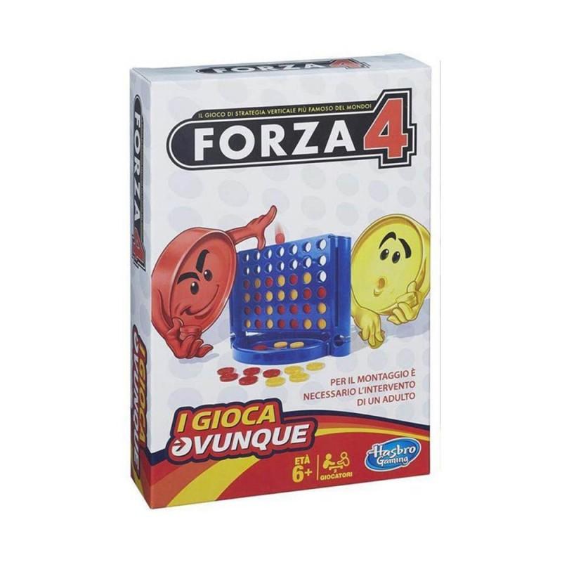 Gioco Da Tavolo Forza 4 Travel - Hasbro  - MazzeoGiocattoli.it