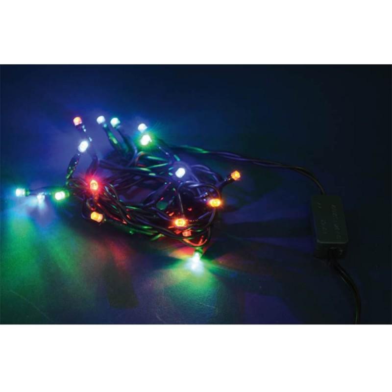 Luci Di Natale Con 40 Led A Luce Fissa Colore Multicolor - MazzeoGiocattoli.it