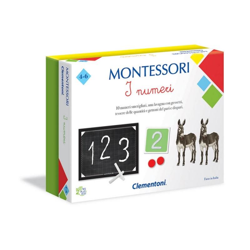 Montessori I Numeri - Clementoni  - MazzeoGiocattoli.it
