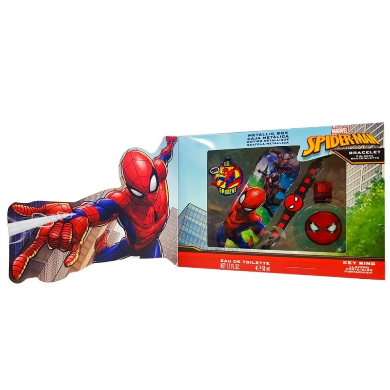 Spider-Man Eau De Toilette 50 Ml Marvel  - MazzeoGiocattoli.it