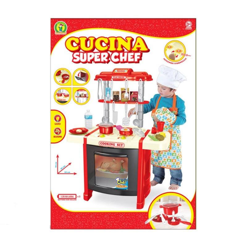 Cucina Giocattolo Super Chef - Mazzeo Giocattoli  - MazzeoGiocattoli.it