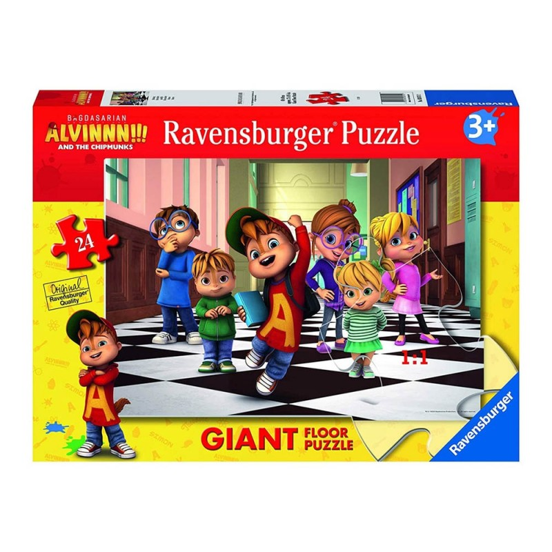 Puzzle Giant 24 Alvin - Clementoni - MazzeoGiocattoli.it