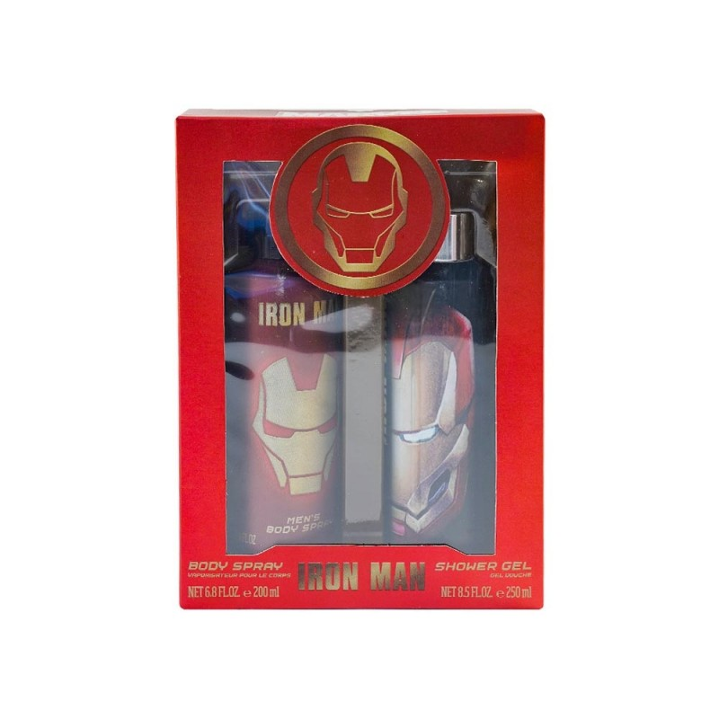 Set Bagno Marvel Iron Man 200ml  - MazzeoGiocattoli.it