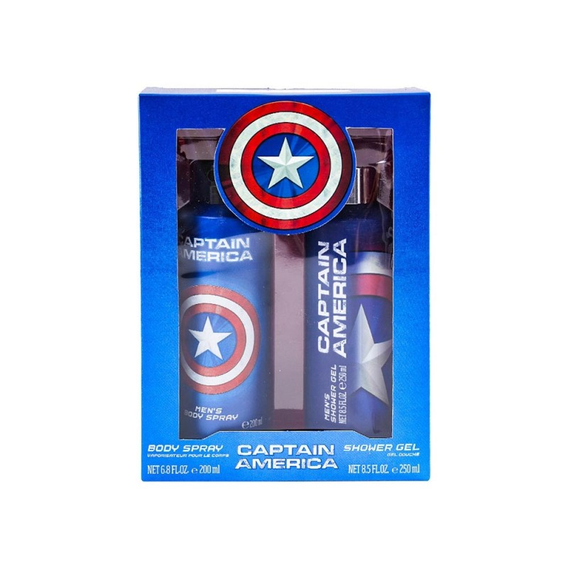 Set Bagno Marvel Capitan America 200ml - MazzeoGiocattoli.it