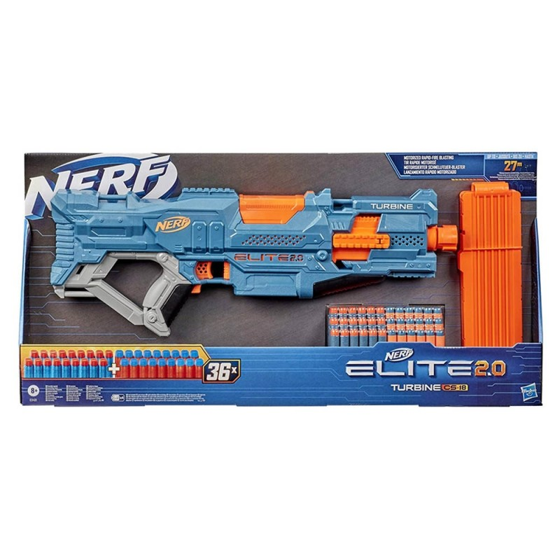 Nerf Elite 2.0 Turbine CS-18 - Hasbro  - MazzeoGiocattoli.it