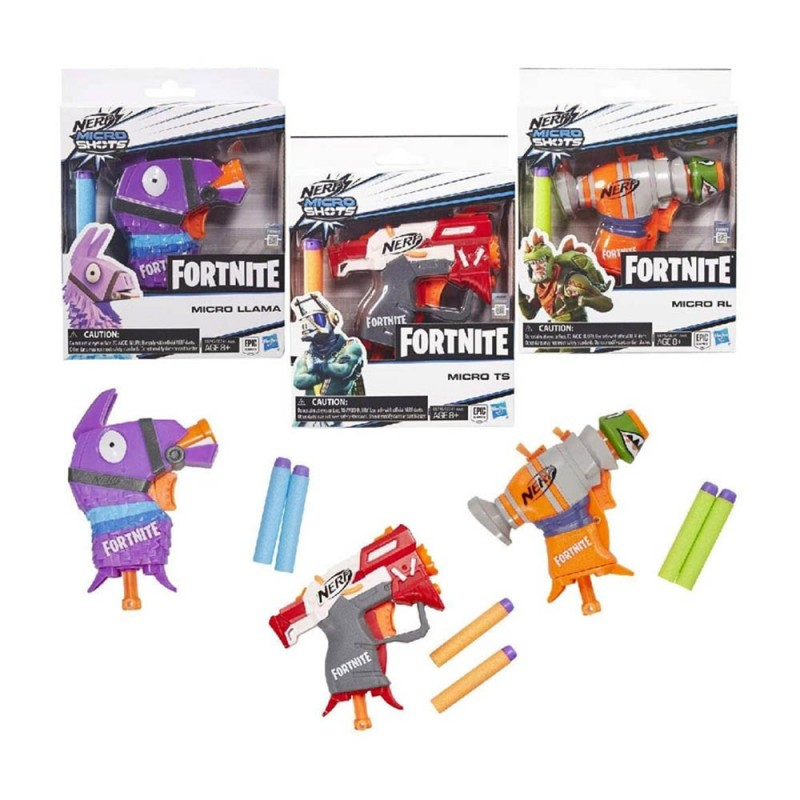 Nerf Fortnite Microshots - Hasbro - MazzeoGiocattoli.it