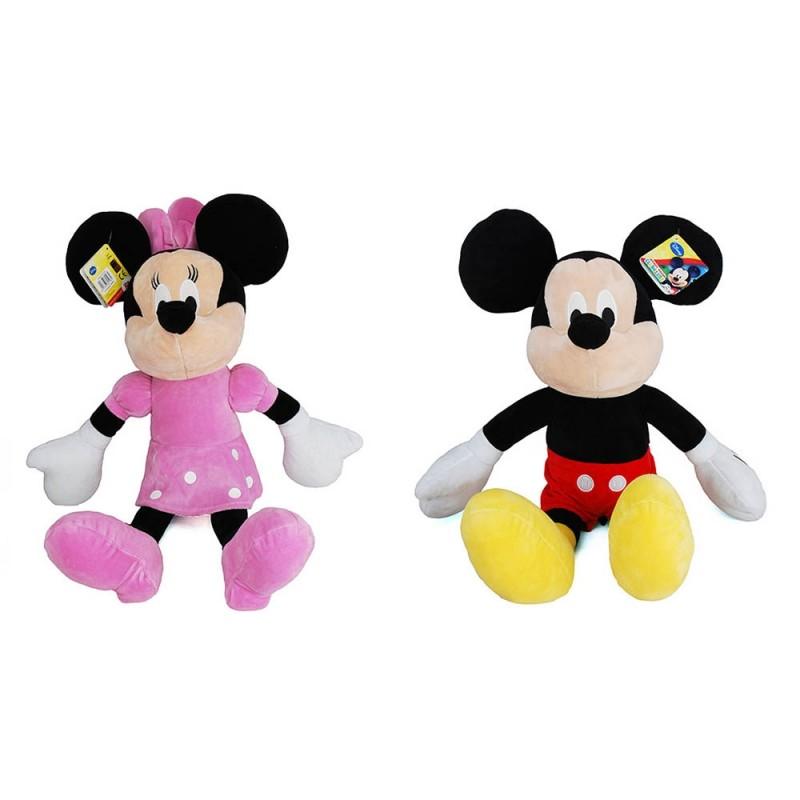 Peluche Mickey E Minnie Mouse 43cm - Disney - MazzeoGiocattoli.it