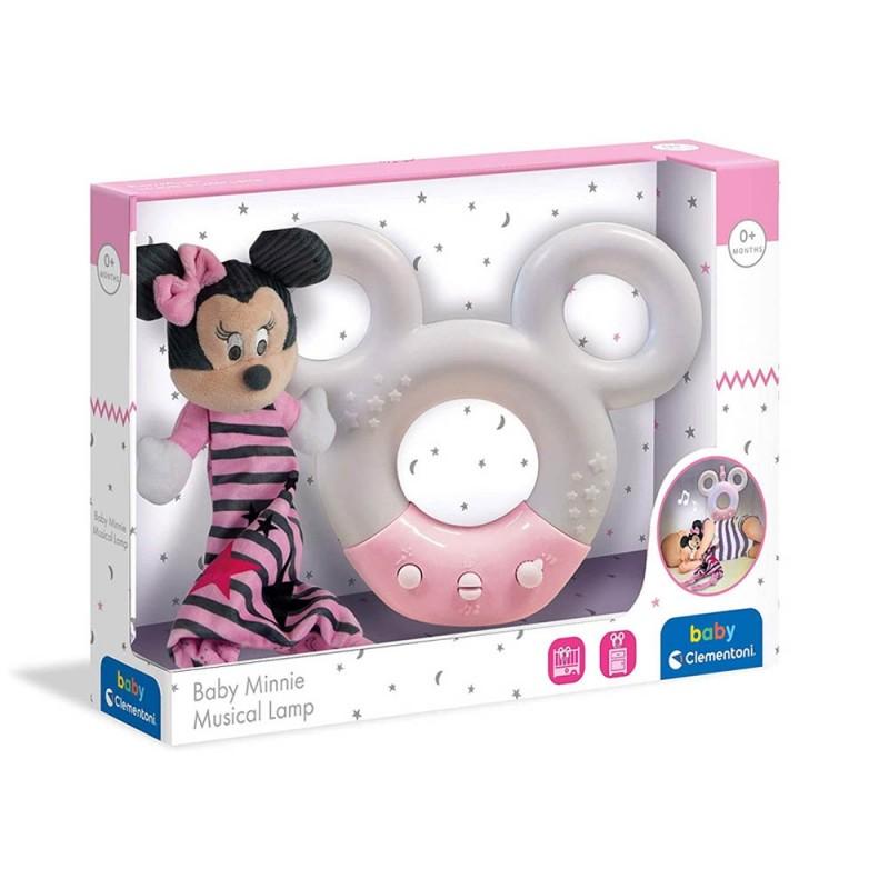 Disney Baby Minnie Lampada Musicale - Clementoni  - MazzeoGiocattoli.it