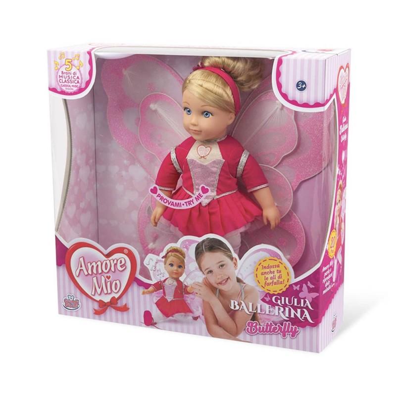 Amore Mio Butterfly Giulia Ballerina - Grandi Giochi  - MazzeoGiocattoli.it