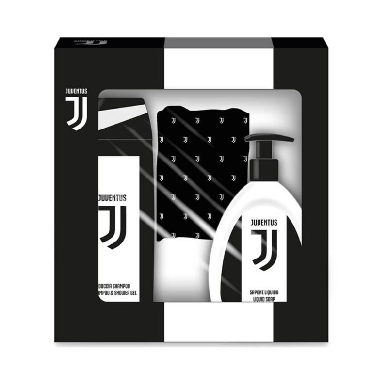 Set Regalo Docciashampoo, Sapone Liquido E Scaldacollo - Juventus  - MazzeoGiocattoli.it