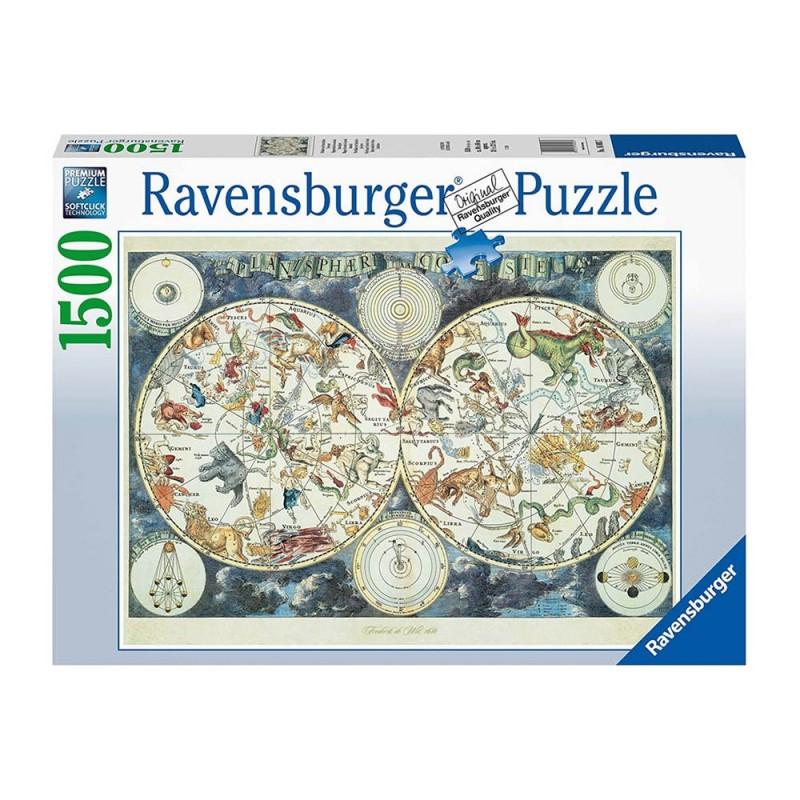Puzzle Mappa Del Mondo Di Animali Fantastici - Ravensburger  - MazzeoGiocattoli.it