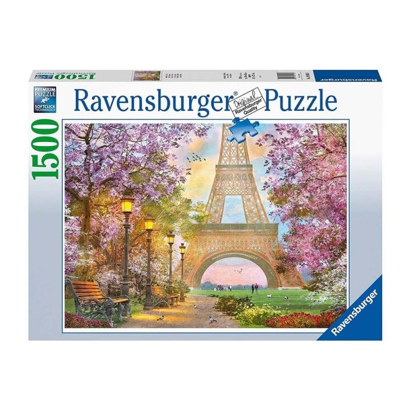 Puzzle Amore A Parigi - Ravensburger  - MazzeoGiocattoli.it