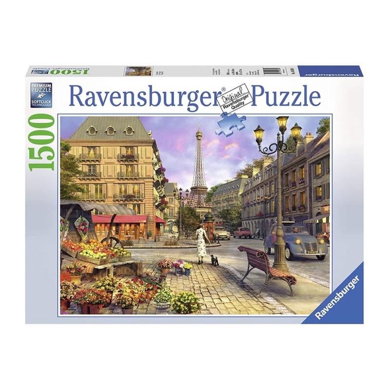 Puzzle 1500pz Vintage Paris - Ravensburger - MazzeoGiocattoli.it