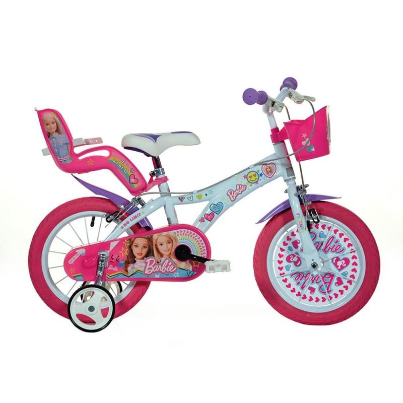 Bicicletta Barbie 16 Pollici - Dino Bikes - MazzeoGiocattoli.it