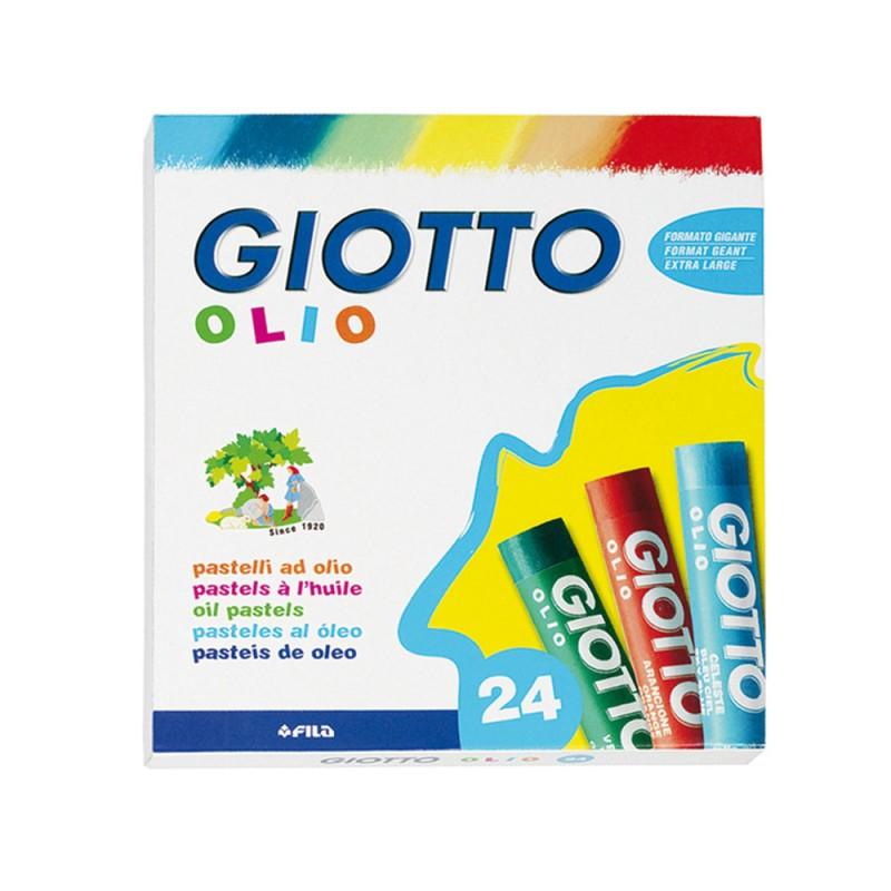 24 Pastelli Ad Olio - Giotto - MazzeoGiocattoli.it