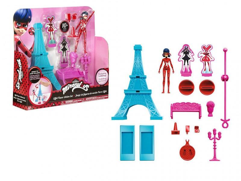 Miraculous Ladybug Gioco Torre Eiffel  - MazzeoGiocattoli.it