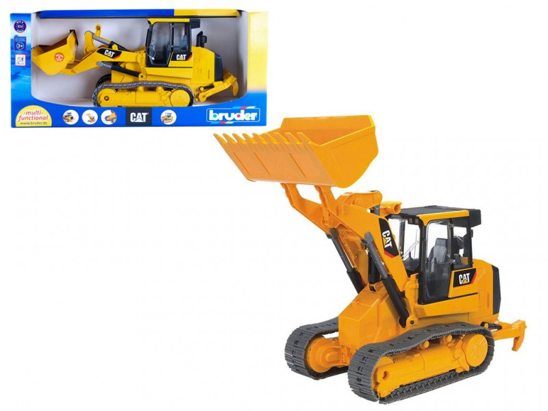 Ruspa Cat Caterpillar - Bruder - MazzeoGiocattoli.it