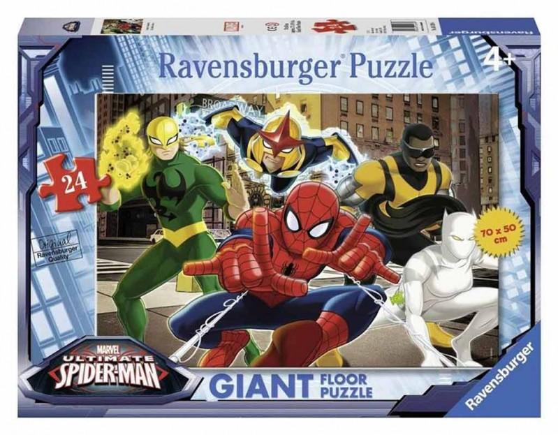 Puzzle 24 Ultimate Spiderman - Ravensburger - MazzeoGiocattoli.it