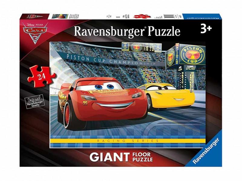 Puzzle Pavimento Cars 3 - Ravensburger - MazzeoGiocattoli.it