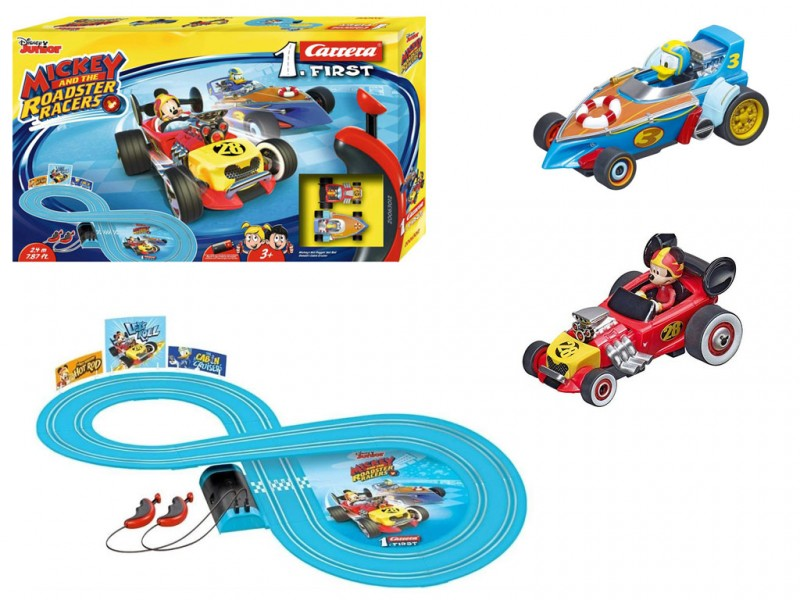 Pista Carrera First Mickey Roadster Racers - MazzeoGiocattoli.it