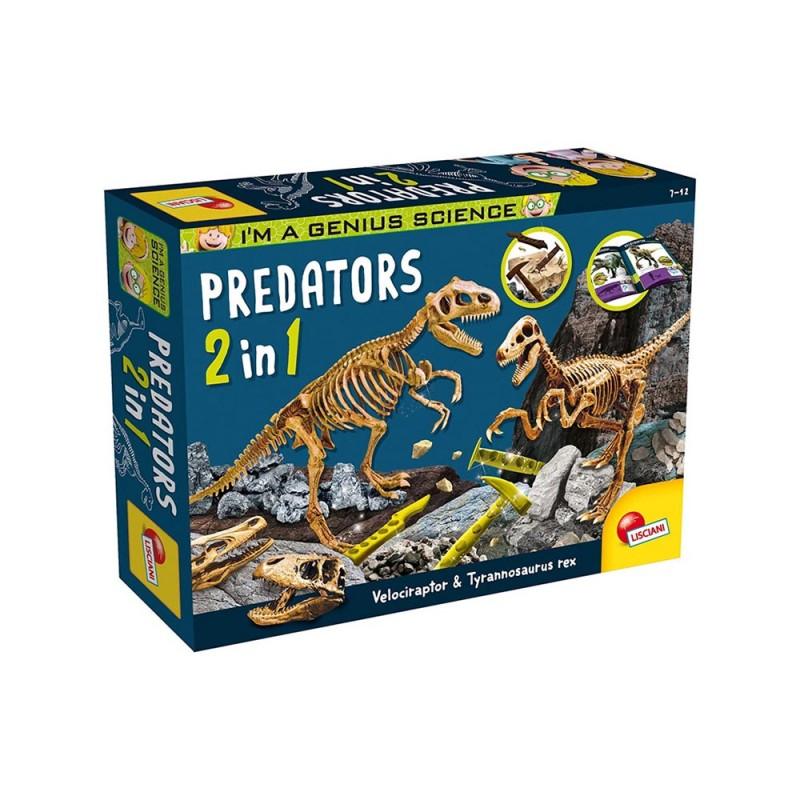 I'm A Genius Predators 2 In 1 - Lisciani  - MazzeoGiocattoli.it