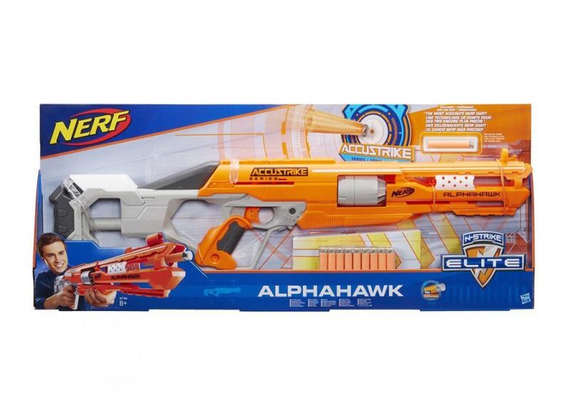 Nerf Accustrike Alphahawk - Hasbro - MazzeoGiocattoli.it