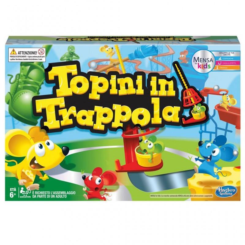 Gioco Di Società Topini In Trappola - Hasbro - MazzeoGiocattoli.it