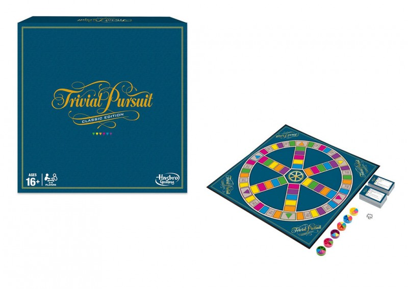 Trivial Pursuit - Hasbro - MazzeoGiocattoli.it