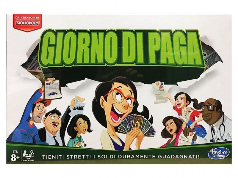 Gioco Di Società Monopoly Giorno Di Paga - MazzeoGiocattoli.it