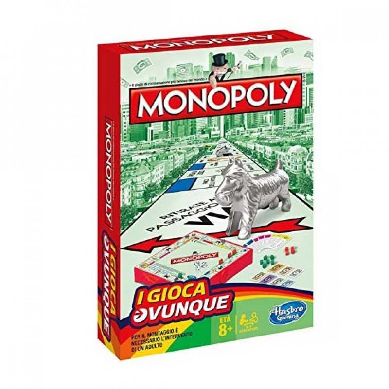 Gioco Di Società Monopoly Travel - MazzeoGiocattoli.it