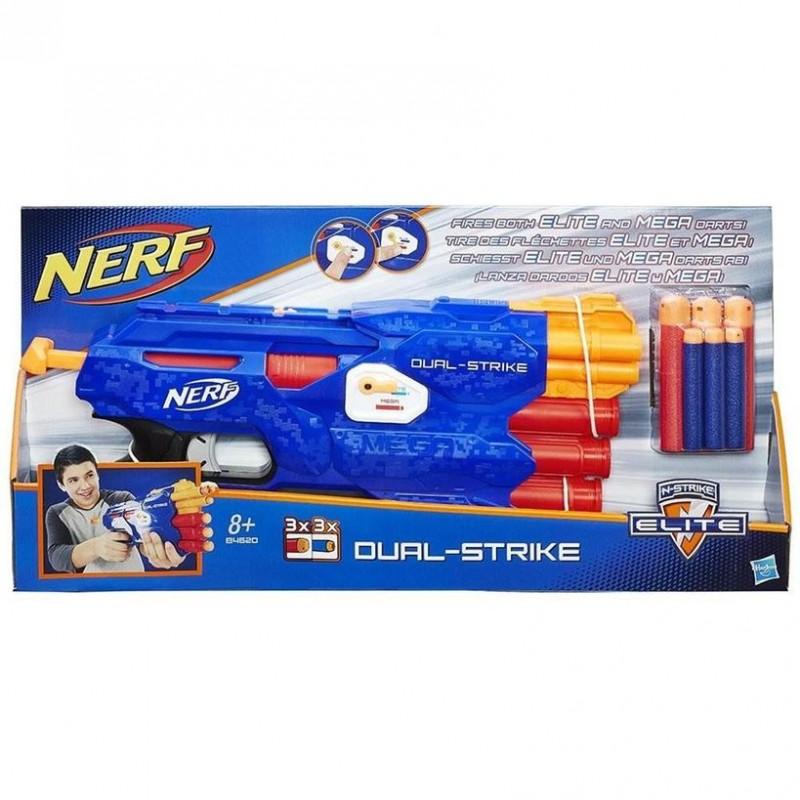 Nerf Dual Strike Elite - Hasbro      - MazzeoGiocattoli.it